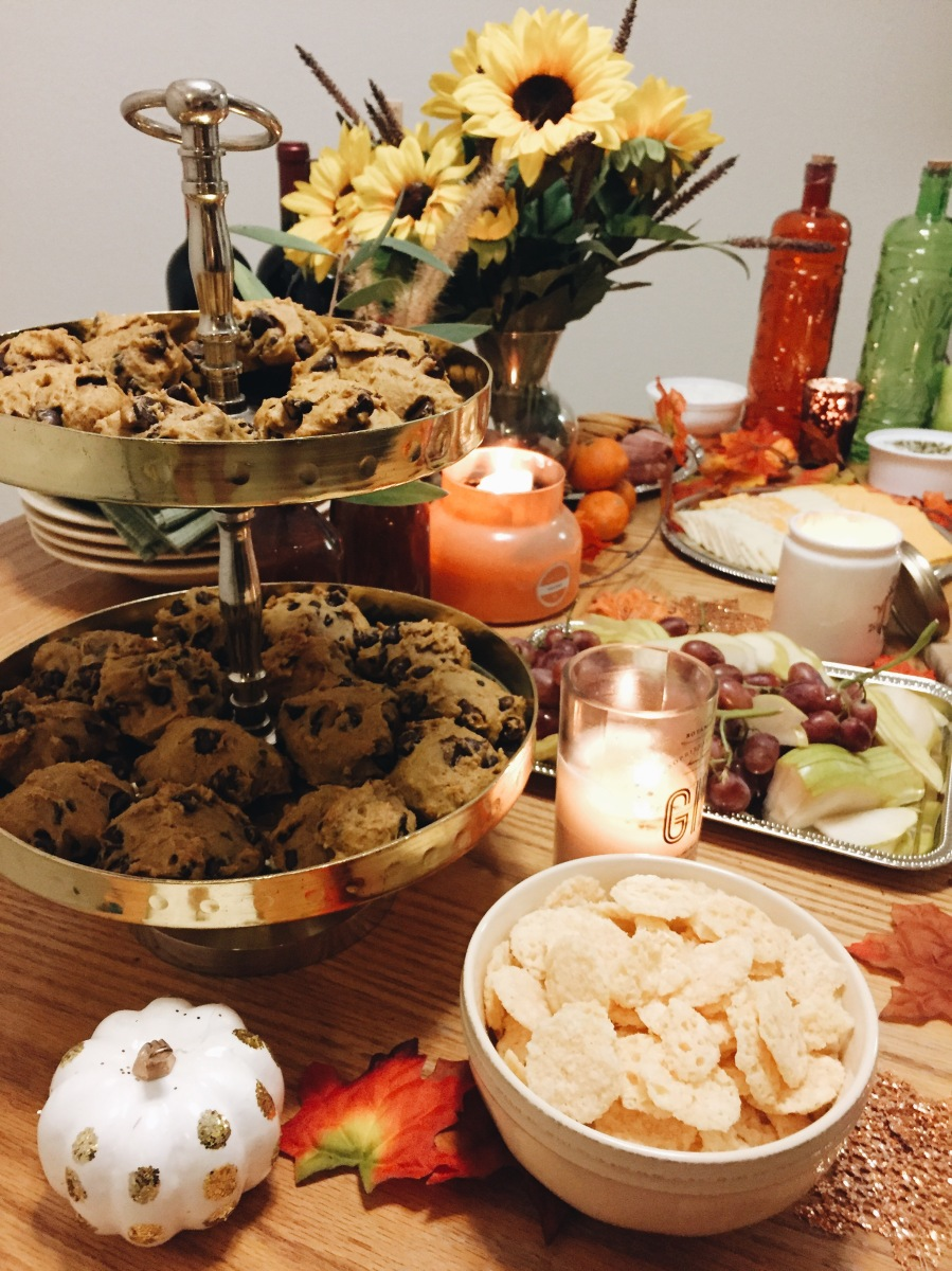 Hosting An Autumn Wine & Cheese Girls Night